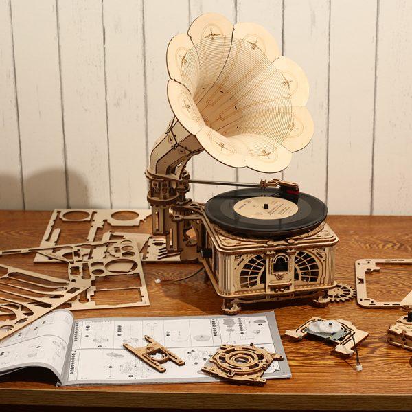3D Wooden Models