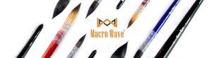 Art supplies Macro Wave Brush